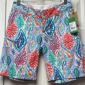 Nwt Lilly Pulitzer chipper short in let minnow